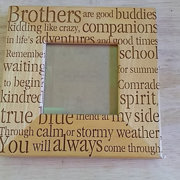 Wooden brothers 3x3 frame